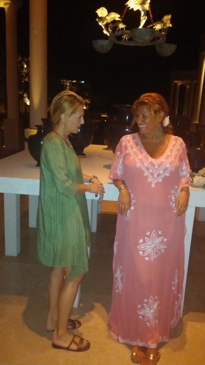 Δείπνο με την κολλητούλα μου και την μητέρα μου στο Amanzo'e! Χαρά...