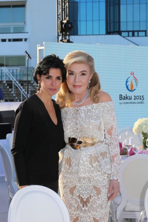 Η κα Rachida Dati πρώην Υπουργός Δικαιοσύνης της Γαλλίας και νυν Δήμαρχος του 7ου Διαμερίσματος του Παρισιού και η κα Μαριάννα Β. Βαρδινογιάννη