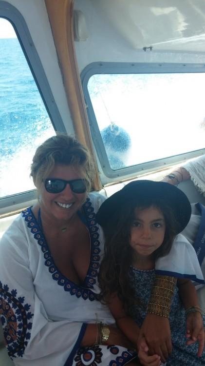 Στο sea taxi από Σπέτσες, Πόρτο Χέλι...