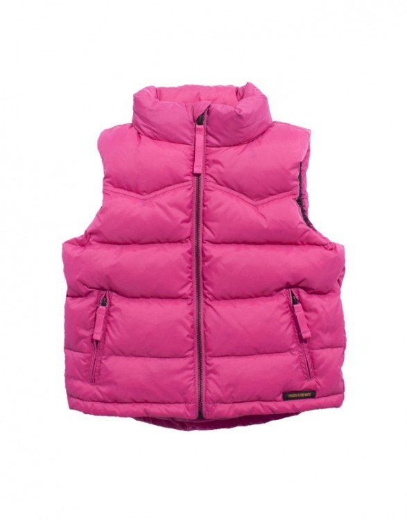 Girls Deep Pink Pony Riding Vest