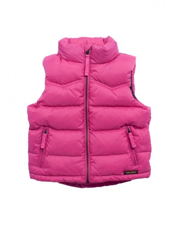 Girls Deep Pink Pony Riding Vest