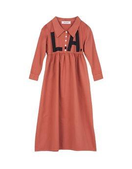 Girls Brick Colour LA Maxi Dress