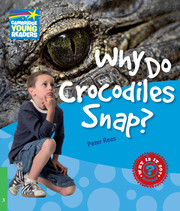 A series of twenty non-fiction science readers which engages children in the world around them. Where do animals live? Why do wolves howl? Can animals hurt me? You can find the answers to these and other questions about animals in Why Do Crocodiles Snap?