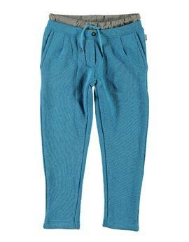 Boys Light Blue Fleece Sweatpants