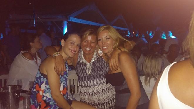 Με την Εμμανουέλα Λύκου και την Φανή Σαραντοπούλου