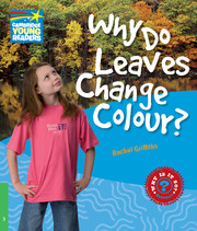A series of twenty non-fiction science readers which engages children in the world around them. Why are flowers different colours? How do we know how old a tree is? How can plants grow in deserts? You can find the answers to these and other questions about plants in Why Do Leaves Change Colour?