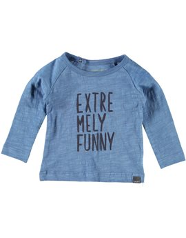 Unisex Baby Pearl Blue T-Shirt