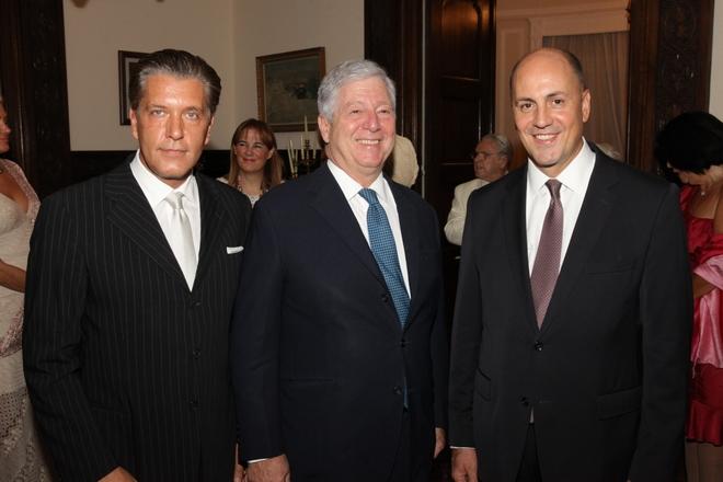 Ο Δρ. Ζήζης Μπουκουβάλας, ο Πρίγκιπας Αλέξανδρος της Σερβίας και ο Τούρκος Πρέσβης στην χώρα μας, Kerim Uras