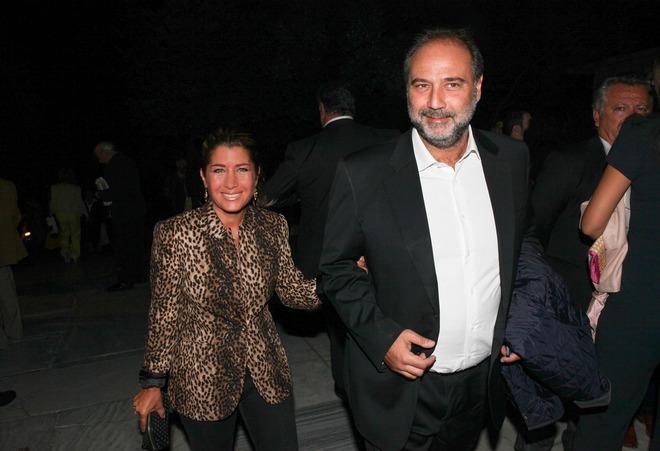 Το ζεύγος Χάρη και Γιασμίν Οικονομοπούλου