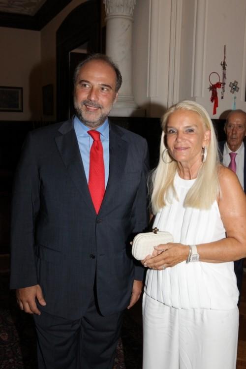Χάρης Οικονομόπουλος, Ειρήνη Αθανασιάδη