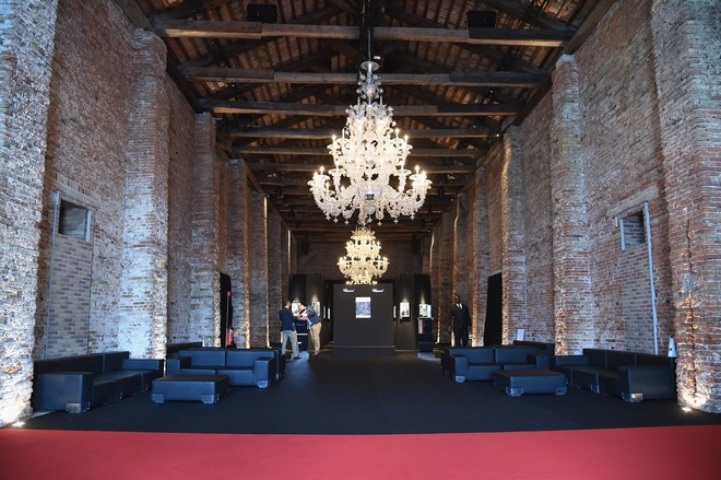 Chopard And Vanity Fair Present 'Backstage At Cinecitta' Exhibition - 71st Venice Film Festival