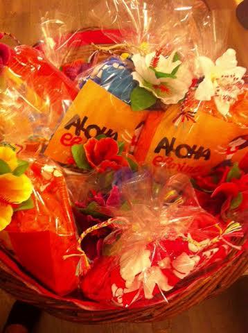 Aloha Elmina Welcome Gifts για τους καλεσμένους μας...
