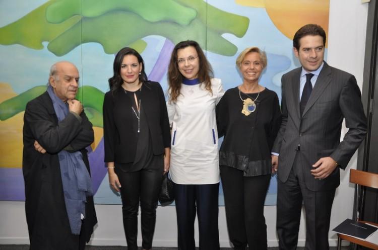 Αλέκος Φασιανός, Όλγα Κεφαλογιάννη, Μαρίζα Φασιανού, Στέλλα Ευγένα, Χριστόφορος Καπαρουνάκης