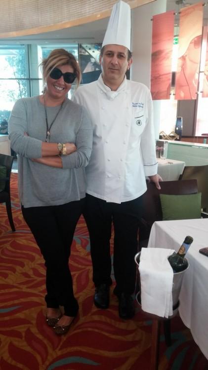 Με υποδέχεται ο επί 30 χρόνια chef του Χίλτον Κύπρου, Στέλιος Στυλιανού