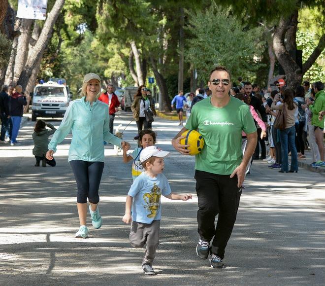 Η Ιωάννα Αγγελοπούλου συμμετείχε με την κόρη της στον Αγώνα της Οικογένειας