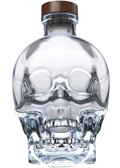 An ultra-pure, unadulterated spirit, with the bottle design based on the mystery of the 13 crystal skulls that have been found around the world