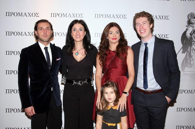 Παντελής Κοντογιάννης, Κάθυ Βεκρή, Κασάνδρα Βογιατζή, Coorte Voohrees και η μικρή Δώρα