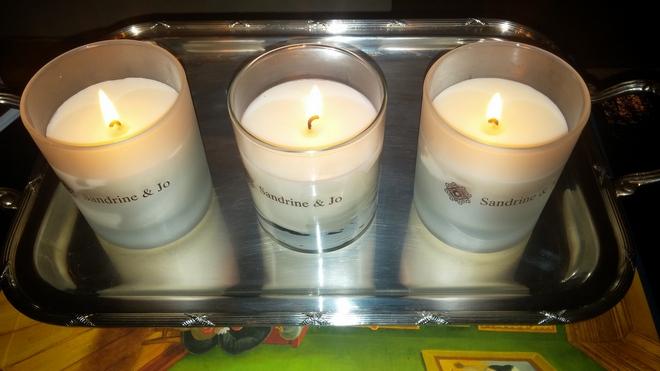Αρώματα χειμώνα που μπερδεύονται γλυκά μεταξύ τους: Sandalwood Mystery, Pure Vanilla, Warm Cinnamon της Sandrine & Jo