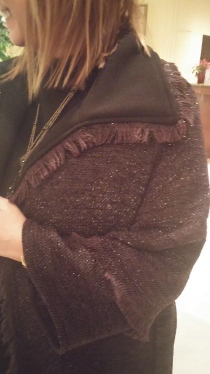 """Το τουίντ παλτό της Συλλογής """"Fay Bei for See You Klio""""! Νομίζω πως πρόκειται για το κομμάτι που αγαπήθηκε πιο πολύ από όλα...Και από εμένα!"""