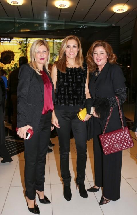 Ντέπυ Σιδεράκη, Ρούλα Λινάτσα, Άννα Αχιλλεούδη