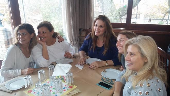 My gierfriends: Δέσποινα, Χριστιάννα, Μαρίλυ, Λίλιαν...
