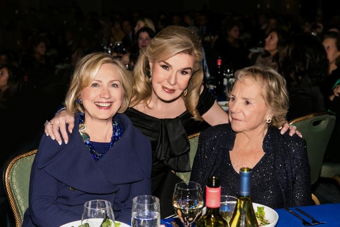 Hillary Clinton, Μαριάννα Β. Βαρδινογιάννη, Ethel Kennedy