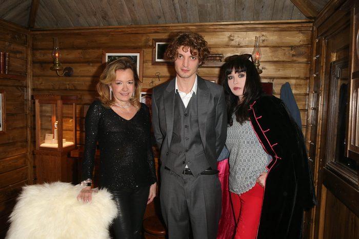 Caroline Scheufele, Niels Schneider, Isabelle Adjani