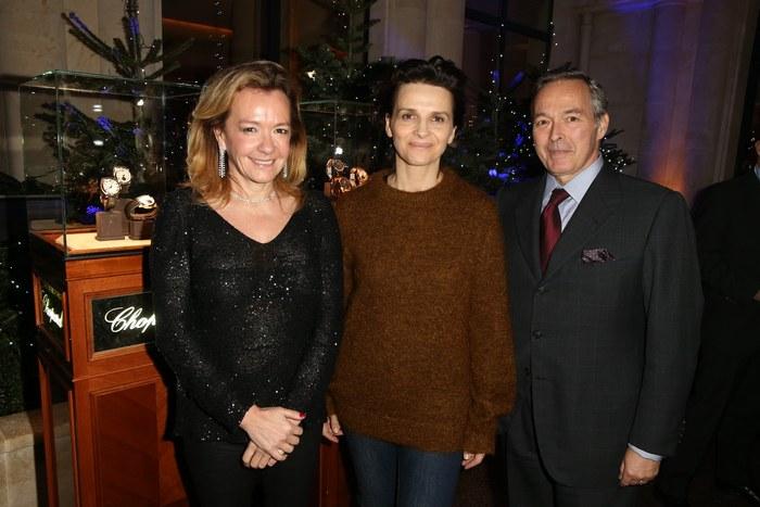 Caroline Scheufele, Juliette Binoche, karl Friedrich Sceufele