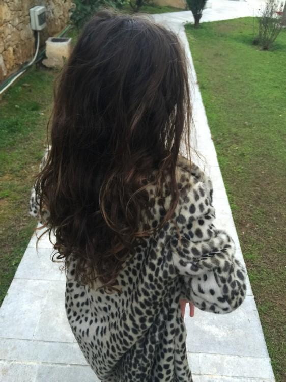 Χθες το απόγευμα πηγαίνοντας στο κομμωτήριο που συνεργάζεται με την Καμπάνια Δωρεάς Μαλλιών