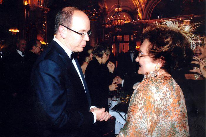 Ο Πρίγκιπας Αλβέρτος του Μονακό με την Μέρω Κεσσεσίογλου