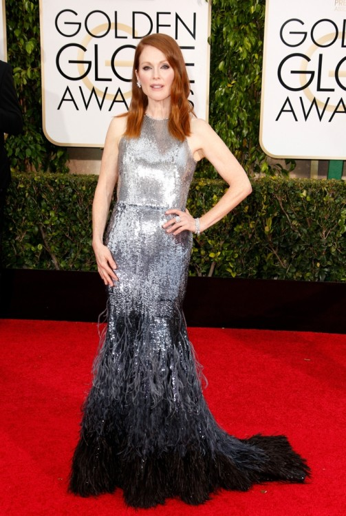 okJulianne Moore wears Chopard to the 72nd Golden Globes Awards, Los Angeles, January 11th 2025_2