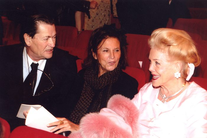 Jean Louis Scherrer, Πριγκίπισσα Milena de Liechtenstein, Nancy Chopard