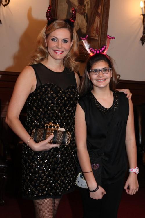 Η Έμη Λιβανίου με την κόρη της, Αλεξάνδρα