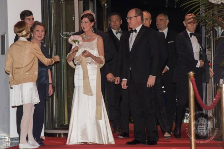 Princesse Caroline de Hanovre et de S.A.S. le Prince Albert II