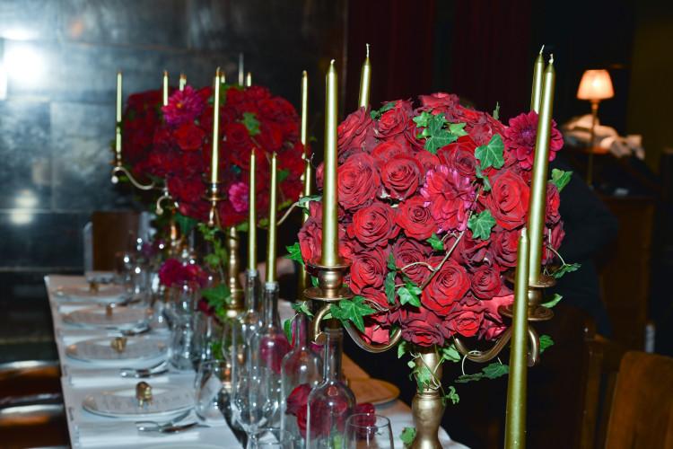 arte de la table by Fashion Workshop by Vicky Kaya συνθέσεις  λουλουδιών by Βαλεντίνη Κρασσά Secret Garden 1