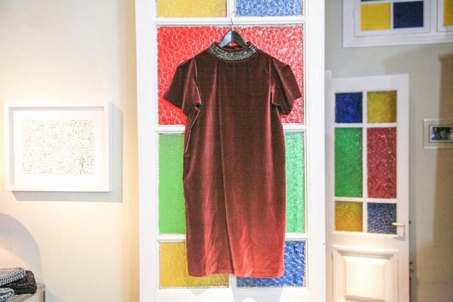 The Burgundy Dress!