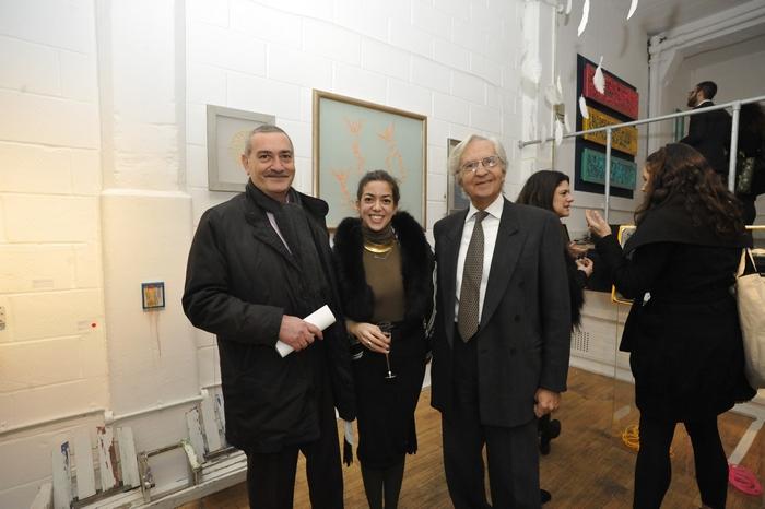 Michael Monios, Stephania Psarrou, John Karras