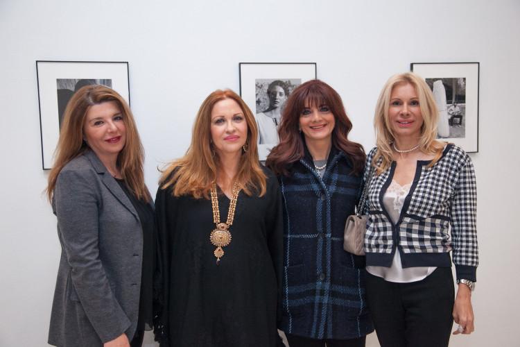 Η Καλλιόπη με τις Αθηνά Πεντεφούντα, Μαριάννα Βιλδιρίδη & Στέλλα Βουλγαράκη