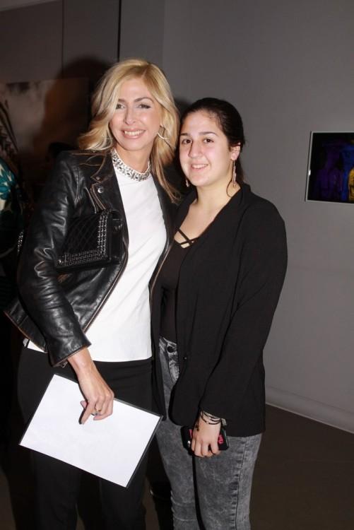 Η Άντζελα Βαγιωνή με την κόρη της