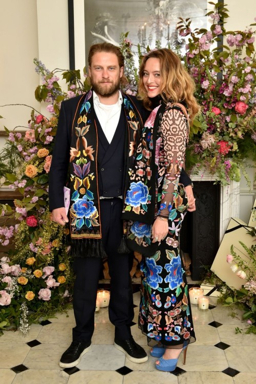Greg Williams &  Alice Temperley