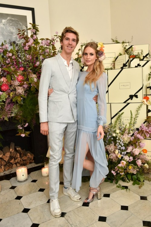 James Cook & Poppy Delevingne