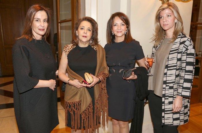 Αλίνα Μαραγκού, Πηνελόπη Μπάρλου, Βάνα Λαβίδα, Νάνσυ Βογιατζόγλου