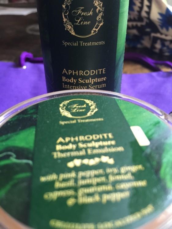 Και φυσικά, το Aphrodite Body Sculpture, Intensive Serum! Ένα εντατικό serum από την Fresh Line!