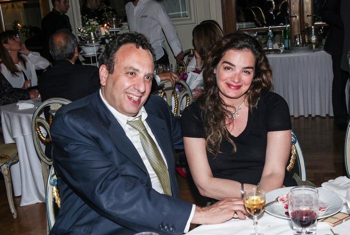 Ο Χρήστος Χωμενίδης και η Γωγώ Μπρέμπου