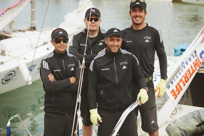 Η ομάδα VMG-Nespresso με κυβερνήτη τον παγκόσμιο πρωταθλητή Παναγιώτη Μάντη