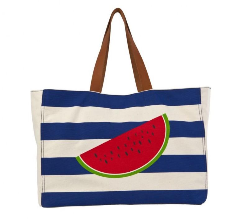 beach bag, Karpouzi