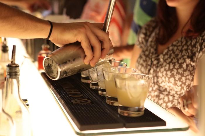 Ο Χρυσός Χορηγός Chivas προσέφερε δροσερά cocktails στο Welcome Party και στην Τελετή Απονομής του Αγώνα