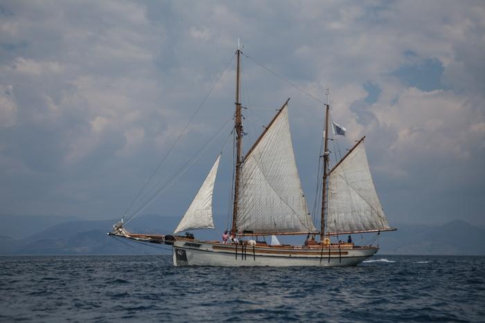 Το σκάφος Circe κατά τη διάρκεια των αγώνων