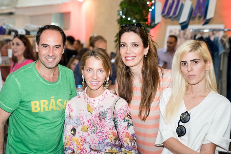 Ο CEO του Qrator Νικόλας Ιωαννίδης, η Αλεξάνδρα Δράκου, η Δήμητρα Λαζαράτου και η Ξένη Κουβέλη