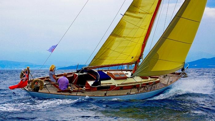 Το σκάφος GIPSY MOTH διαγωνίστηκε στο CCYR 2015